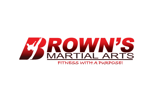 Brown's Martial Arts Logo Before