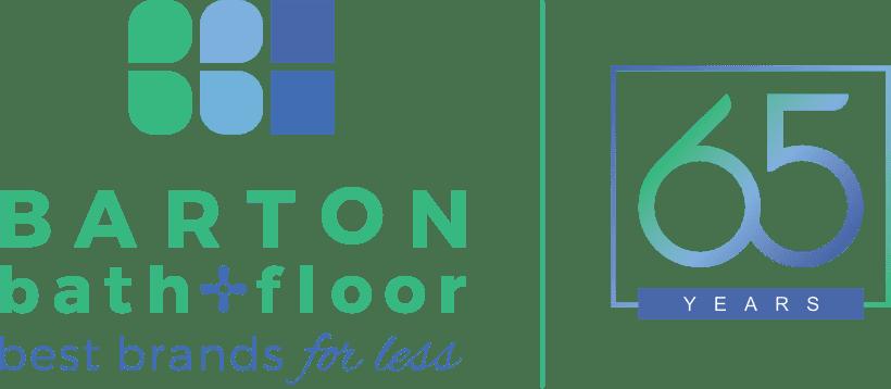 Barton Bath + Floor 65th Anniversary Logo
